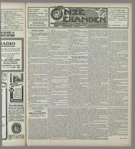 Onze Eilanden 1927-11-16