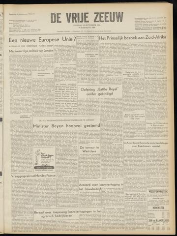 de Vrije Zeeuw 1954-09-28