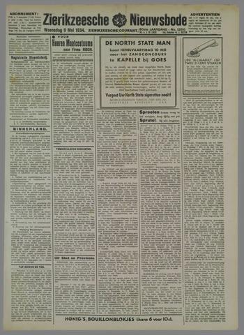 Zierikzeesche Nieuwsbode 1934-05-09