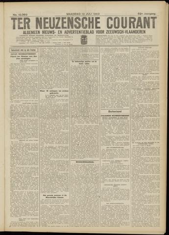 Ter Neuzensche Courant. Algemeen Nieuws- en Advertentieblad voor Zeeuwsch-Vlaanderen / Neuzensche Courant ... (idem) / (Algemeen) nieuws en advertentieblad voor Zeeuwsch-Vlaanderen 1942-07-13