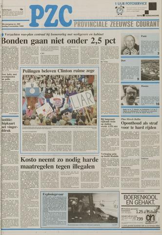 Provinciale Zeeuwse Courant 1992-11-03