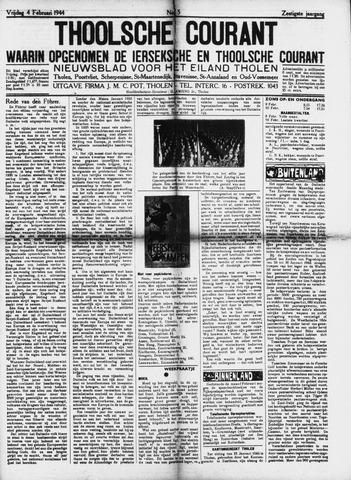 Ierseksche en Thoolsche Courant 1944-02-04