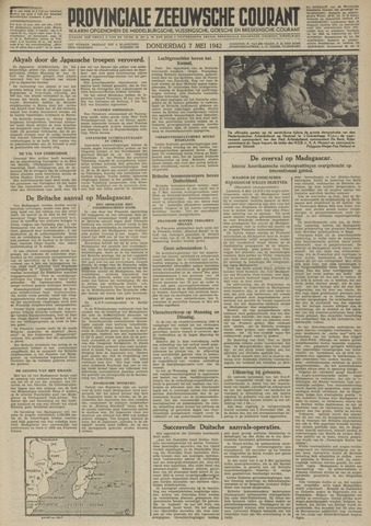 Provinciale Zeeuwse Courant 1942-05-07