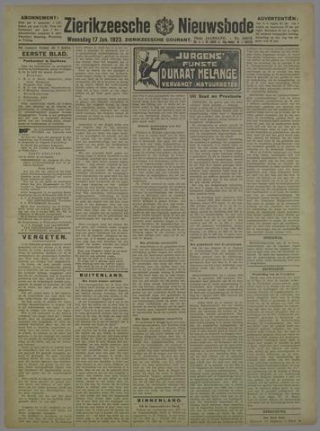 Zierikzeesche Nieuwsbode 1923-01-17