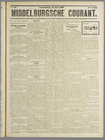Middelburgsche Courant 1927-07-14