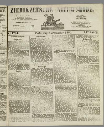 Zierikzeesche Nieuwsbode 1860-12-08