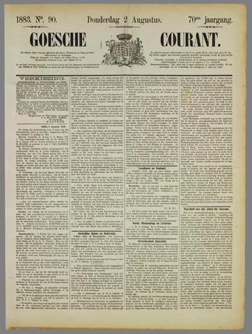 Goessche Courant 1883-08-02
