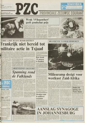 Provinciale Zeeuwse Courant 1983-08-08
