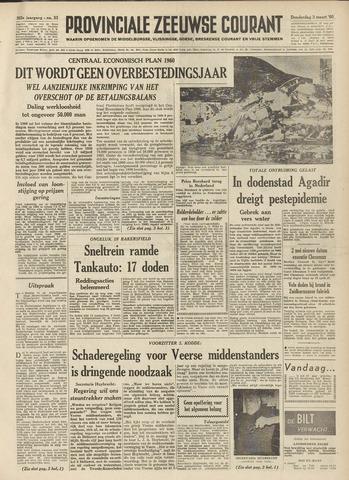 Provinciale Zeeuwse Courant 1960-03-03