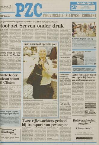 Provinciale Zeeuwse Courant 1992-07-16
