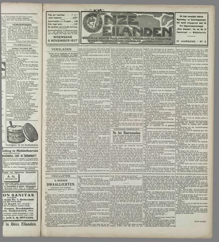 Onze Eilanden 1927-11-09
