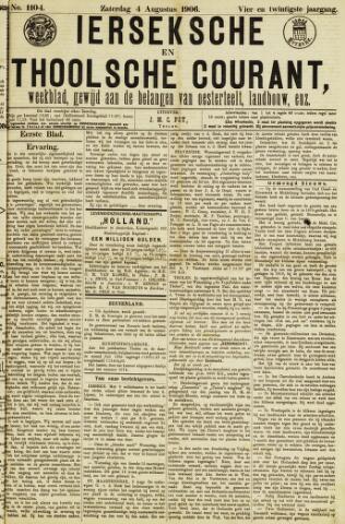 Ierseksche en Thoolsche Courant 1906-08-04