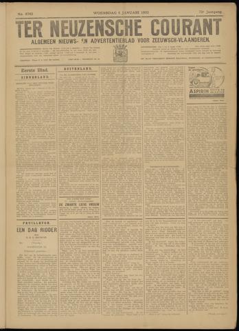 Ter Neuzensche Courant. Algemeen Nieuws- en Advertentieblad voor Zeeuwsch-Vlaanderen / Neuzensche Courant ... (idem) / (Algemeen) nieuws en advertentieblad voor Zeeuwsch-Vlaanderen 1932-01-06