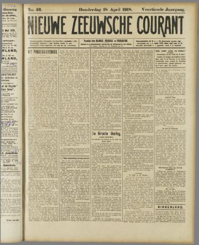 Nieuwe Zeeuwsche Courant 1918-04-18