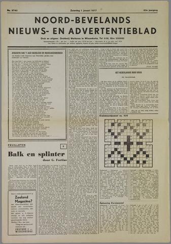 Noord-Bevelands Nieuws- en advertentieblad 1977