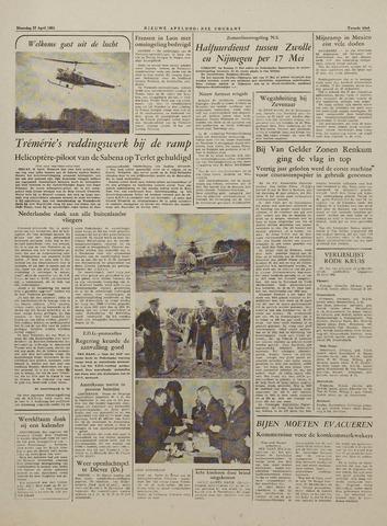 Watersnood documentatie 1953 - kranten 1953-04-27