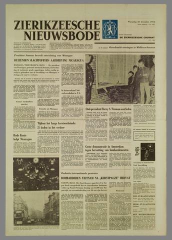 Zierikzeesche Nieuwsbode 1972-12-27
