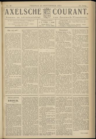 Axelsche Courant 1931-09-25