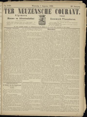 Ter Neuzensche Courant. Algemeen Nieuws- en Advertentieblad voor Zeeuwsch-Vlaanderen / Neuzensche Courant ... (idem) / (Algemeen) nieuws en advertentieblad voor Zeeuwsch-Vlaanderen 1889-08-07