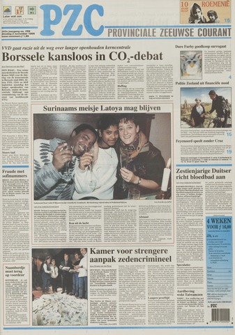 Provinciale Zeeuwse Courant 1999-11-02