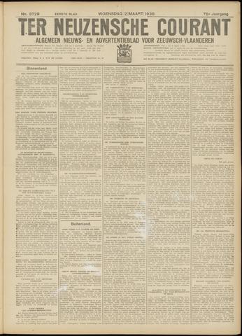 Ter Neuzensche Courant. Algemeen Nieuws- en Advertentieblad voor Zeeuwsch-Vlaanderen / Neuzensche Courant ... (idem) / (Algemeen) nieuws en advertentieblad voor Zeeuwsch-Vlaanderen 1938-03-02