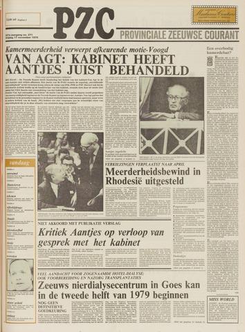 Provinciale Zeeuwse Courant 1978-11-17