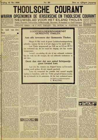 Ierseksche en Thoolsche Courant 1936-05-15