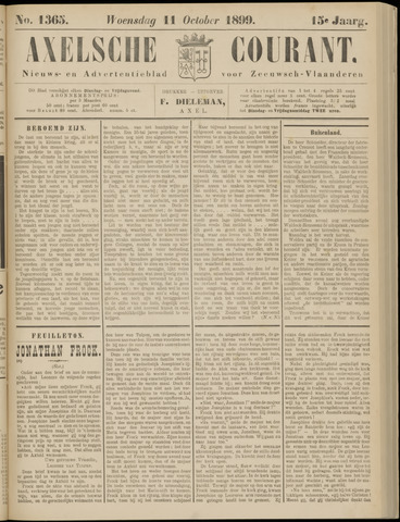 Axelsche Courant 1899-10-11