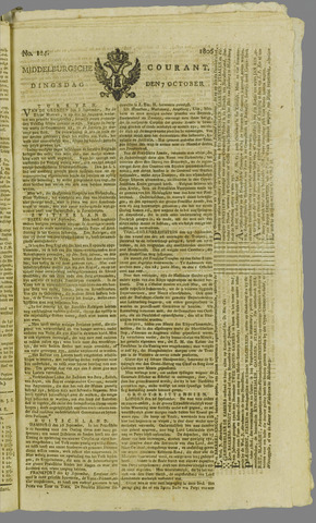Middelburgsche Courant 1806-10-07