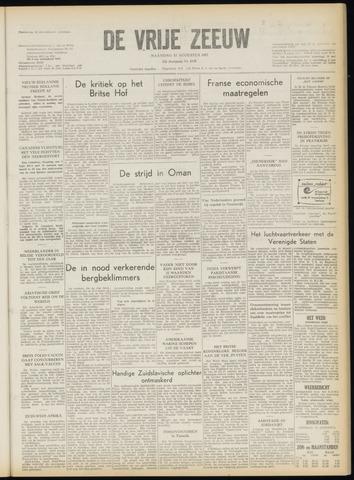 de Vrije Zeeuw 1957-08-12