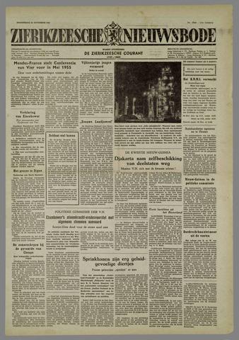 Zierikzeesche Nieuwsbode 1954-11-25