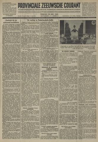Provinciale Zeeuwse Courant 1942-01-30