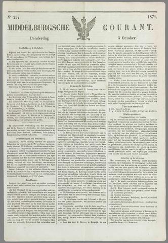 Middelburgsche Courant 1871-10-05
