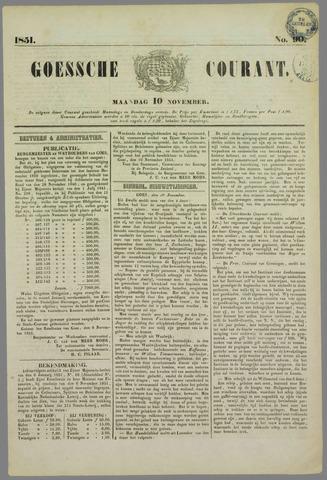 Goessche Courant 1851-11-10