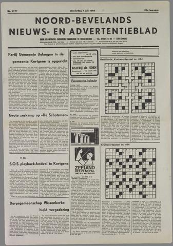 Noord-Bevelands Nieuws- en advertentieblad 1985-07-04