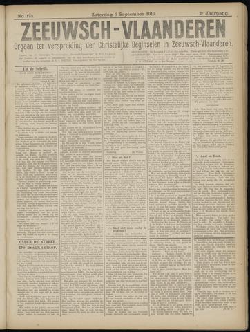 Luctor et Emergo. Antirevolutionair nieuws- en advertentieblad voor Zeeland / Zeeuwsch-Vlaanderen. Orgaan ter verspreiding van de christelijke beginselen in Zeeuwsch-Vlaanderen 1919-09-06