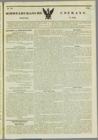 Middelburgsche Courant 1846-06-18