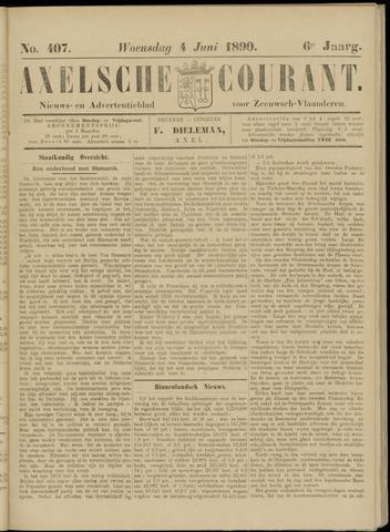 Axelsche Courant 1890-06-04