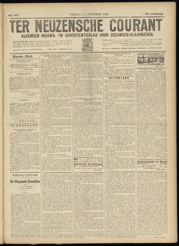 Ter Neuzensche Courant. Algemeen Nieuws- en Advertentieblad voor Zeeuwsch-Vlaanderen / Neuzensche Courant ... (idem) / (Algemeen) nieuws en advertentieblad voor Zeeuwsch-Vlaanderen 1932-10-14