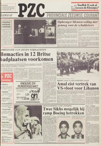 Provinciale Zeeuwse Courant 1985-06-25