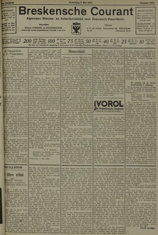 Breskensche Courant 1934-05-09