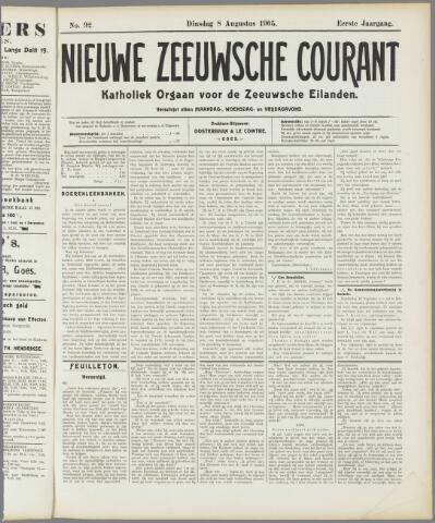 Nieuwe Zeeuwsche Courant 1905-08-08