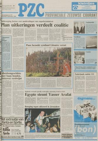 Provinciale Zeeuwse Courant 1993-09-08