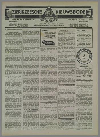 Zierikzeesche Nieuwsbode 1937-11-16