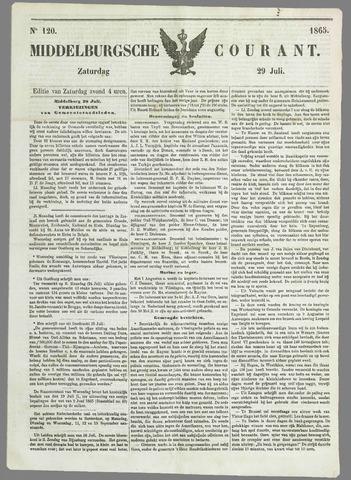 Middelburgsche Courant 1865-07-29
