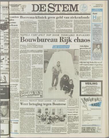 de Stem 1987-02-19