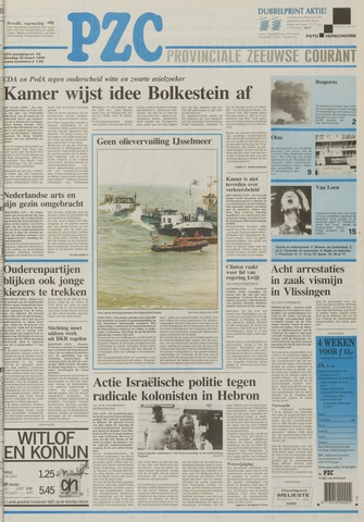 Provinciale Zeeuwse Courant 1994-03-15