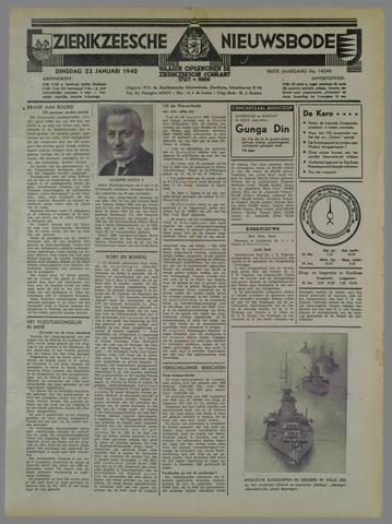 Zierikzeesche Nieuwsbode 1940-01-23