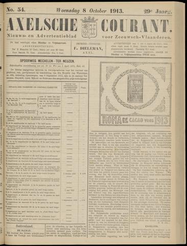 Axelsche Courant 1913-10-08