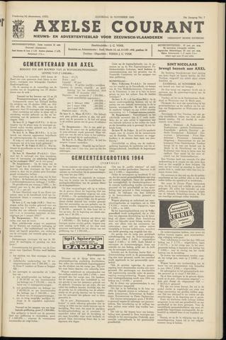 Axelsche Courant 1963-11-16